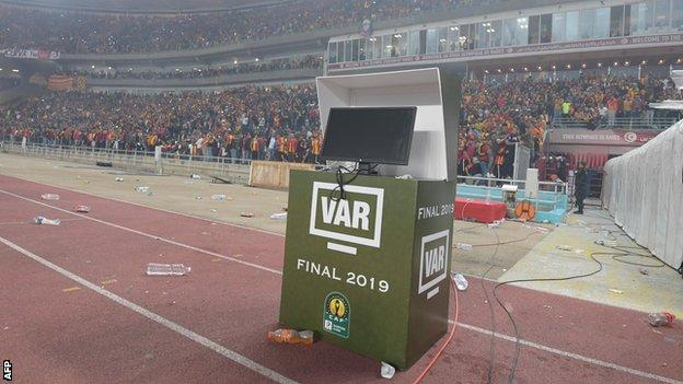 The video assistant referee system (VAR)