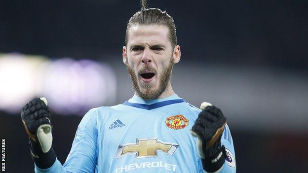 Manchester United keeper David de Gea