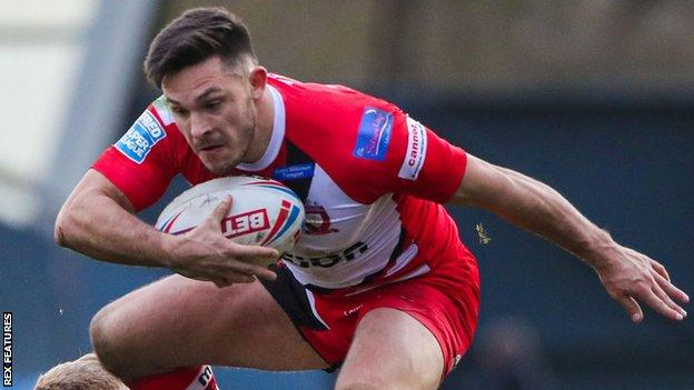 Niall Evalds was part of the Salford Red Devils side that reached last season's Super League Grand Final