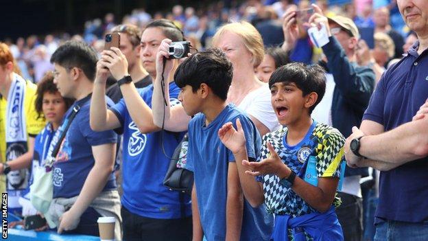 Chelsea, Crystal Palace, ventiladores, Stamford Bridge