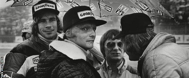 James Hunt, Niki Lauda