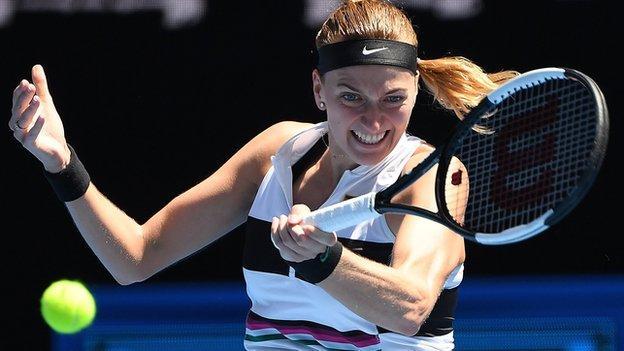 Petra Kvitova wins in Dubai