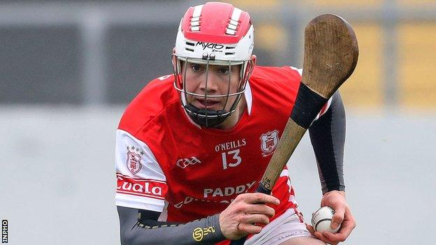 Cuala's star forward Con O'Callaghan