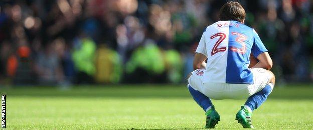 Blackburn Rovers striker Bradley Dack