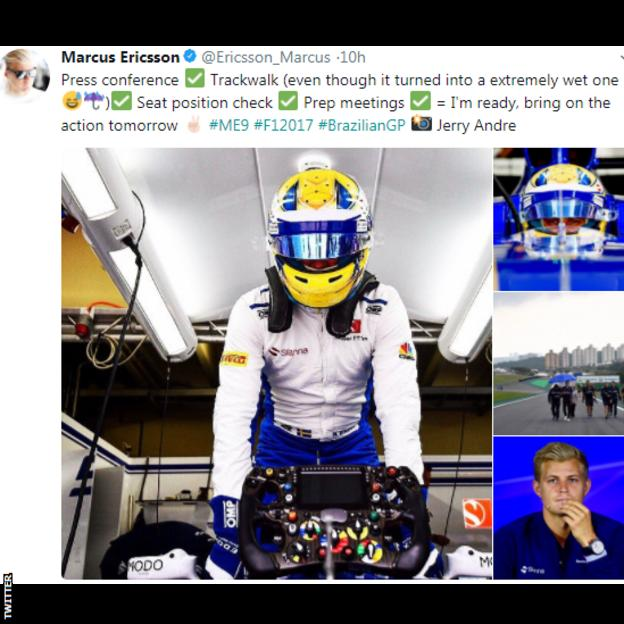 Ericsson tweet