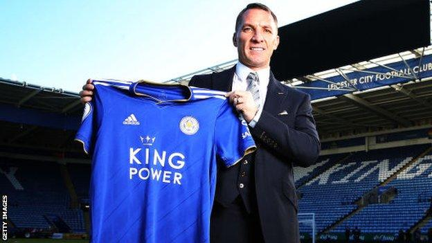 Rodgers has taken Leicester from 12th to third in his year in charge