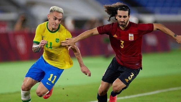 Spain defender Marc Cucurella