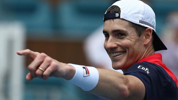 ATP Miami Open: John Isner ends Felix Auger-Aliassime's run to reach final thumbnail