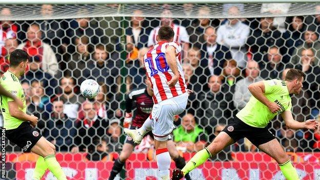 Stoke have scored six goals in on-loan Sam Vokes' five home starts at the Bet 365 Stadium - and he has scored three of them