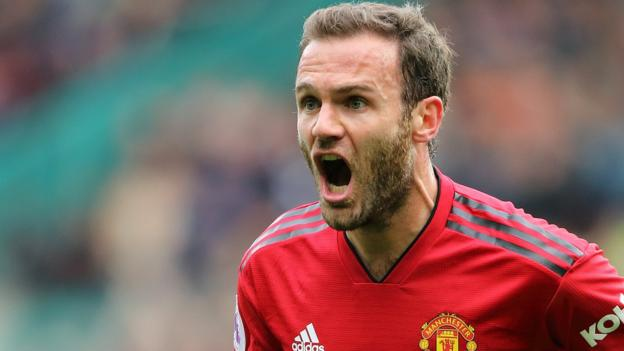 Juan Mata: Manchester United midfielder agrees new contract thumbnail