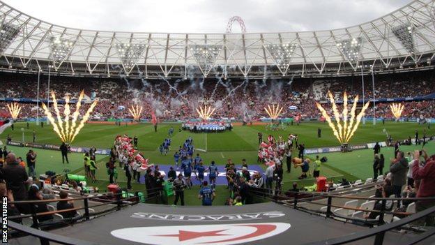 Saracens at London Stadium