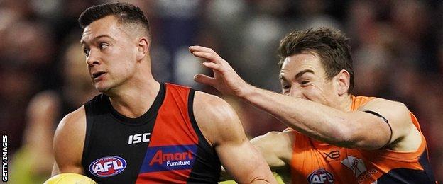 McKenna has the best season of his AFL career in 2019