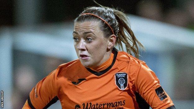 Glasgow City captain Katie McCabe
