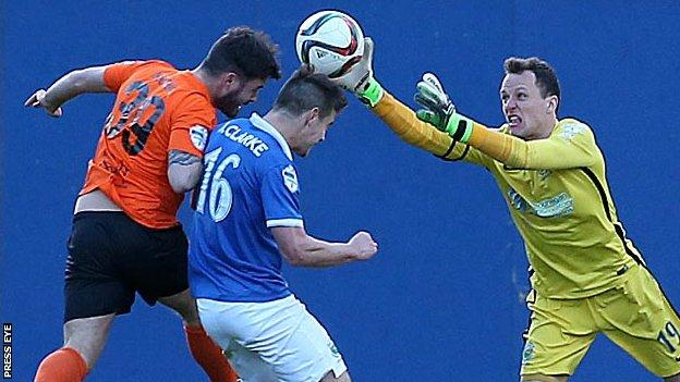 The County Antrim Shield semi-final has been switched to Windsor Park