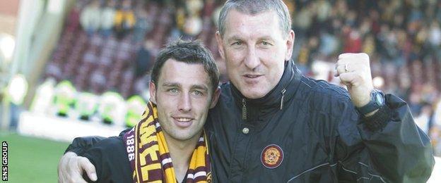 Scott McDonald and Terry Butcher