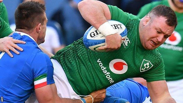 Kilcoyne played 62 minutes of Ireland's laboured win over Italy