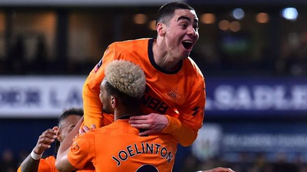 Almiron scores twice as Newcastle beat West Brom - highlights & report