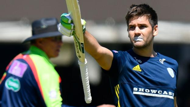 102274896 rilee rossouw - One-Day Cup closing: Hampshire beat Kent at Lord's as Rilee Rossouw stars