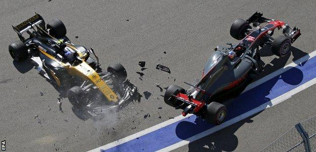 Palmer and Grosjean