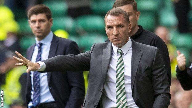 Celtic beat Rangers 1-0 in early September