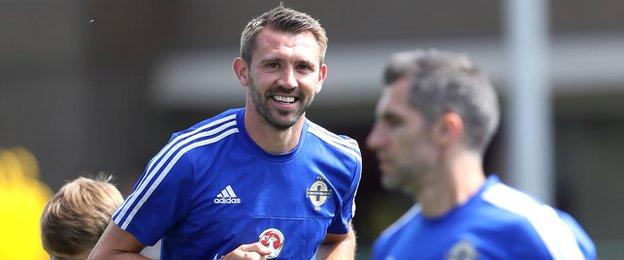 Gareth McAuley, 36, is the second oldest player in the NI squad behind fellow defender Aaron Hughes, who is one month older