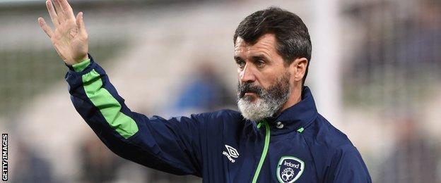 Republic of Ireland assistant boss Roy Keane