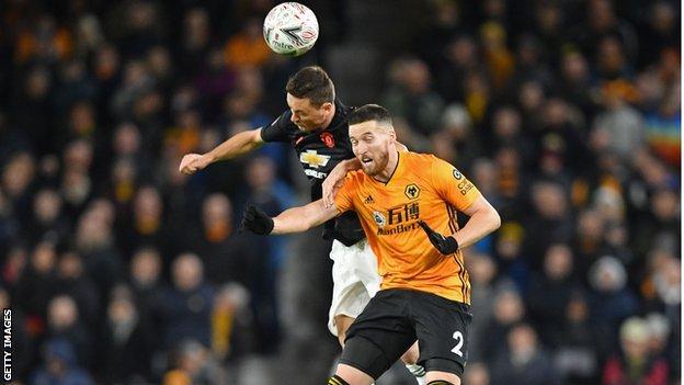 Nemanja Matic, Matt Doherty, Manchester United, Wolverhampton Wanderers