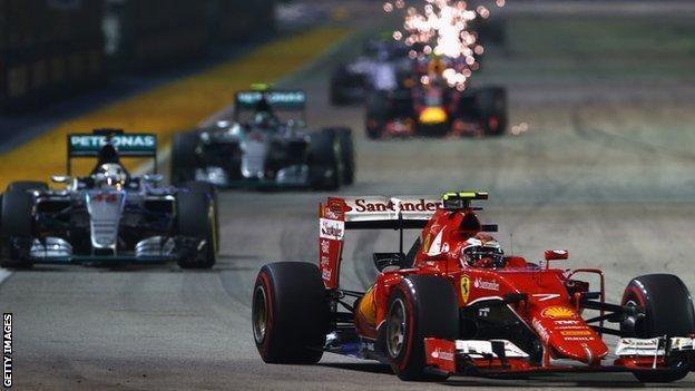Singapore Grand Prix 2015