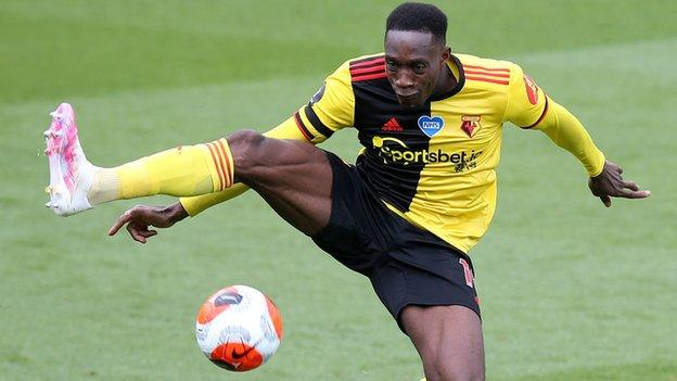 Danny Welbeck in action for Watford