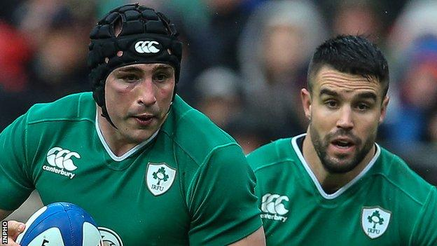 Tommy O'Donnell (left) and Conor Murray
