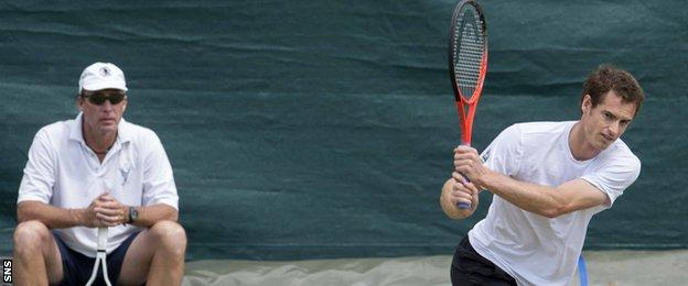 Ivan Lendl, Andy Murray