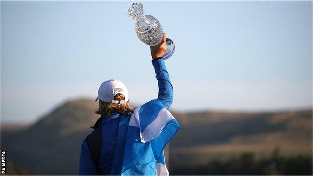 Edinburgh-born Europe captain Catriona Matthew said guiding Europe to Solheim Cup victory on home soil topped all her previous achievements in golf
