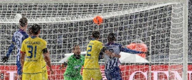 Hoffenheim concede an own goal