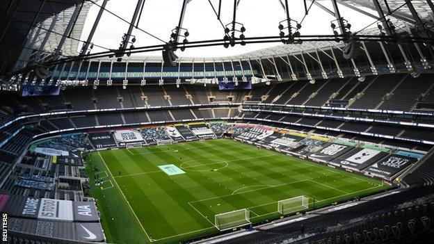 A general view of Tottenham Hotspur Stadium