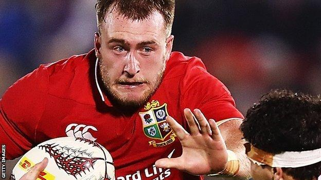 Stuart Hogg in action for the Lions