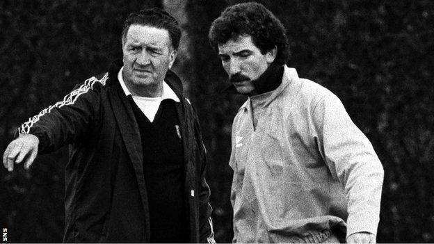 Jock Stein and Graeme Souness