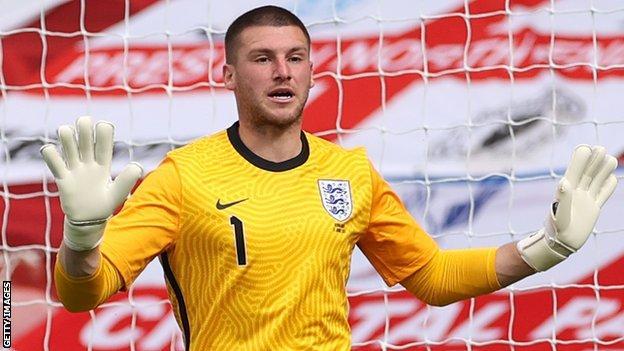 Johnstone made his England debut in the Euro 2020 warm-up win over Romania in June