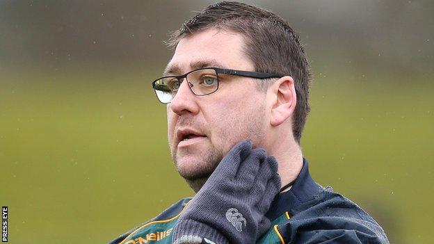 Antrim hurling manager PJ O'Mullan