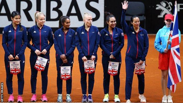 Great Britain Fed Cup team
