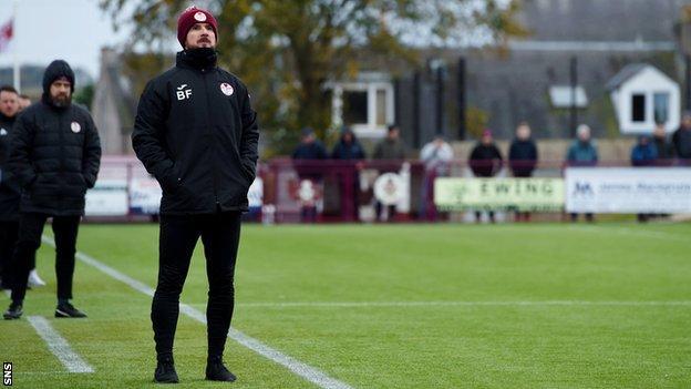 Kelty Hearts manager Barry Ferguson