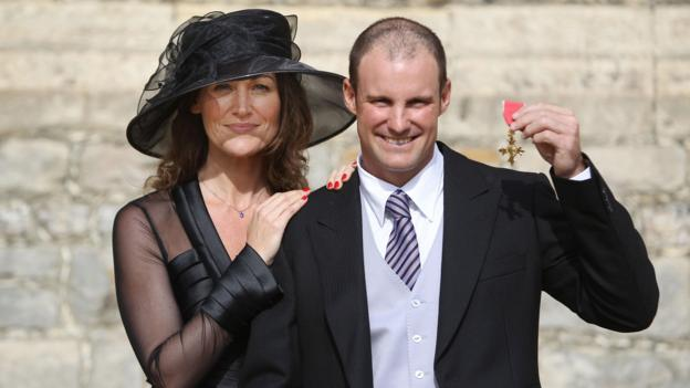 Andrew Strauss describes 'long five months' since death of wife Ruth thumbnail