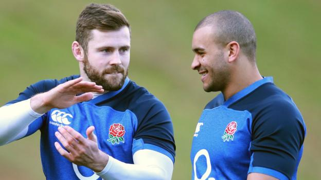 Centre Joseph starts on wing for England against Ireland