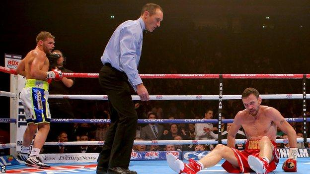 WBO Middleweight title fight
