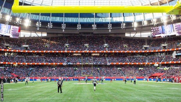 NFL at the Tottenham Hotspur Stadium