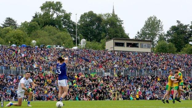The Ulster SFC final between Donegal and Cavan is a repeat of last year's decider.