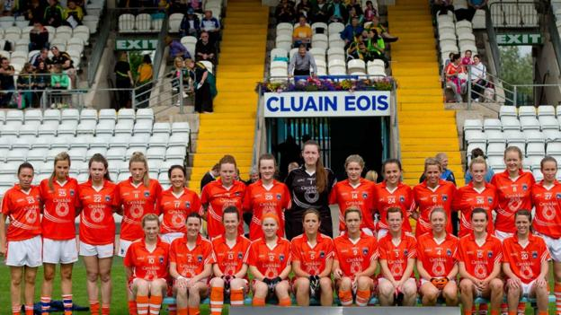 Armagh were up against Ulster champions Donegal at St Tiernach's Park in Clones in a battle for a place in the All-Ireland semi-finals