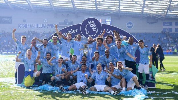 Manchester City, Premier League trophy