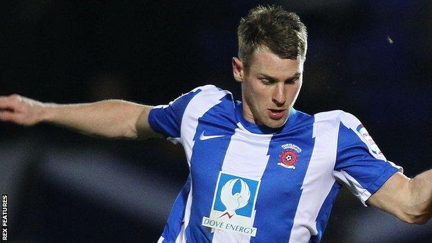 Jonathan Franks is in his second spell with Hartlepool United