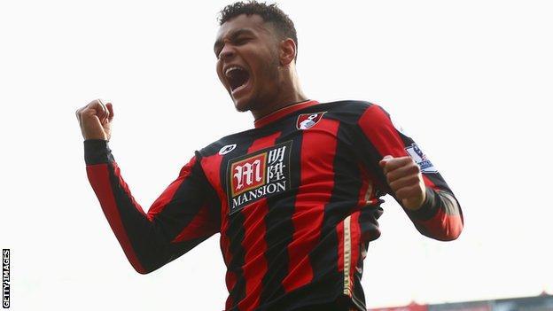 Bournemouth striker Joshua King