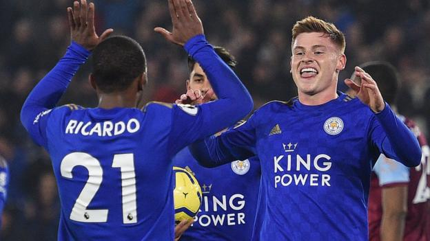 Leicester 4-1 West Ham: Routine win for Foxes despite Jamie Vardy blow thumbnail